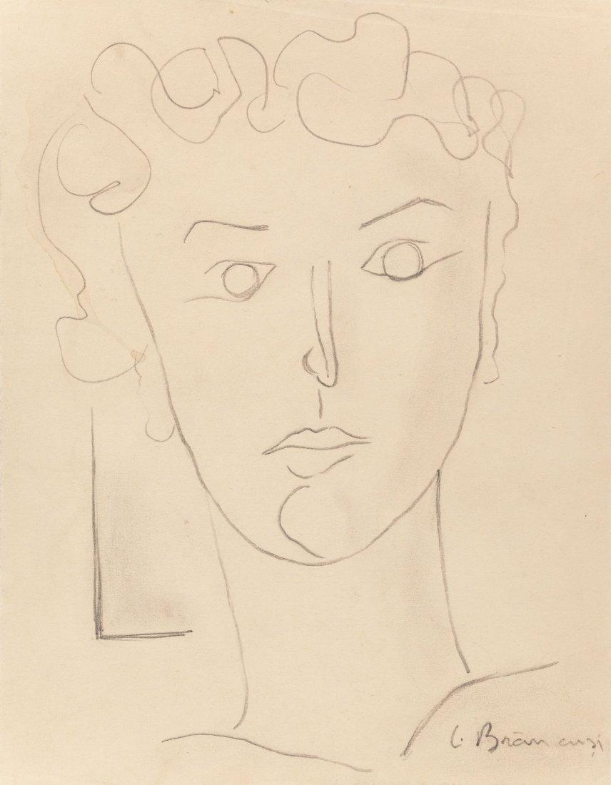 66006: Constantin Brancusi (1876-1957) Untitled (Portra