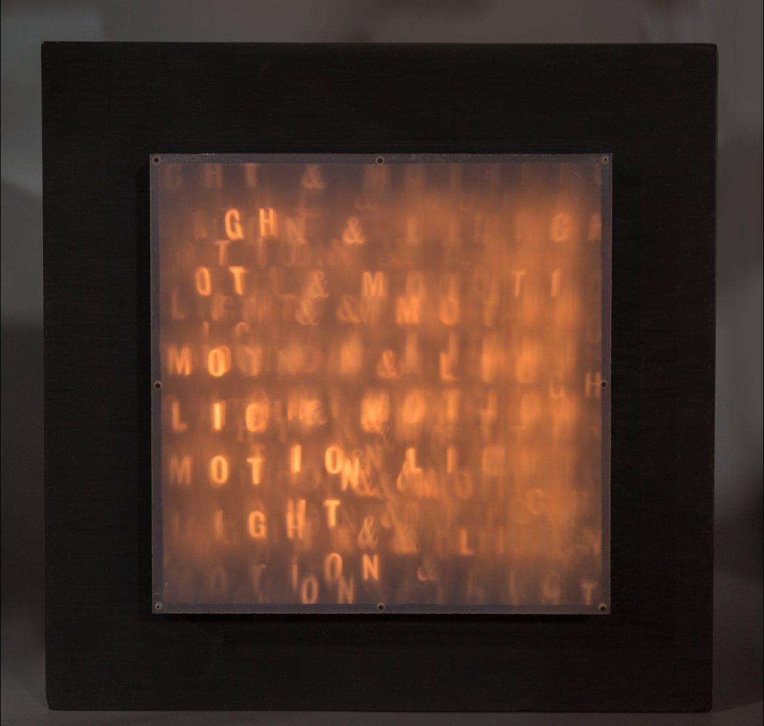 66127: Horacio Garcia Rossi (1929-2012) Boîte Lumineus