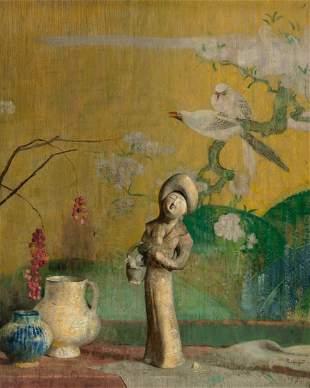 68085: Hovsep Pushman (American, 1877-1966) Still Life