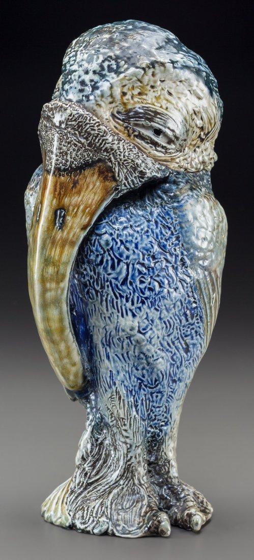 79001: Large Martin Brothers Glazed Stoneware Grotesque