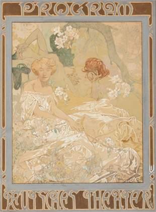 79139: Alphonse Mucha (Czechoslovakian, 1860-1939) Deut