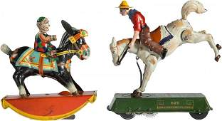 43511: Lithographed Tin Windup Toys (Two): Lehmann Buck