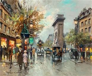 Antoine Blanchard (French, 1910-1988) Porte Saint Denis
