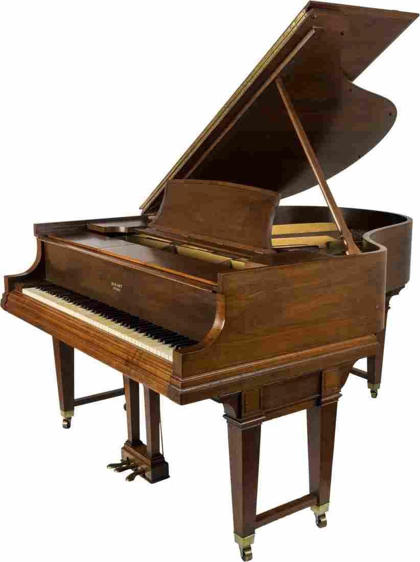 A Steinway Duo-Art Repeating Walnut Grand Piano, Model