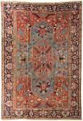 65157 A SemiAntique Persian Heriz Rug circa 1920 160