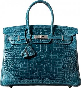 58129: Hermes Limited Edition 35cm Matte & Shiny Colver