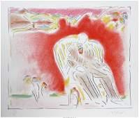 13085: Peter Max (American, b. 1937) The Garden, 1983 L