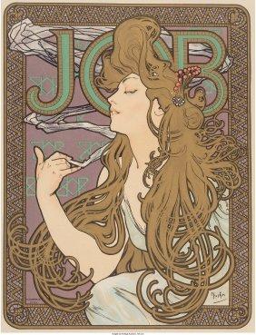61369: Alphonse Mucha (Czechoslovakian, 1860-1939) Job