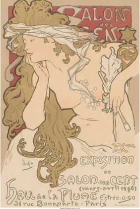 61370: Alphonse Mucha (Czechoslovakian, 1860-1939) Salo
