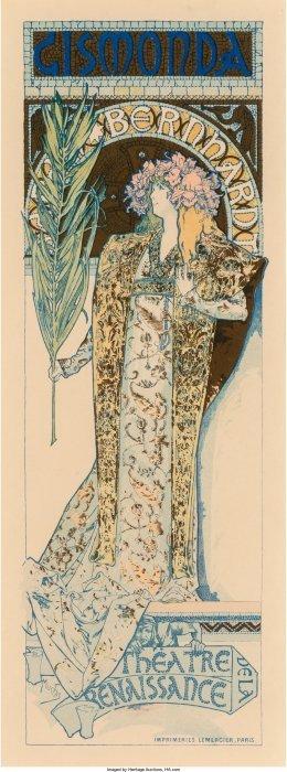 61372: Alphonse Mucha (Czechoslovakian, 1860-1939) Gism