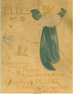 61376: Henri de Toulouse-Lautrec (French, 1864-1901) El