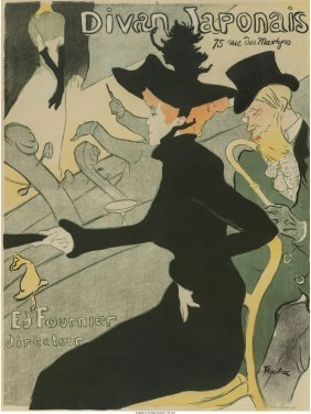 61378: Henri de Toulouse-Lautrec (French, 1864-1901) Di
