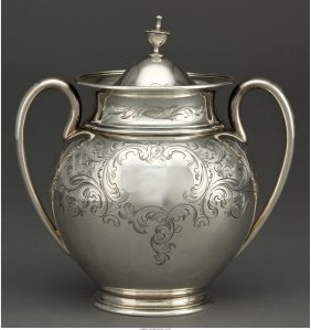61213: A Tiffany & Co. Silver Covered Sugar Bowl, Made