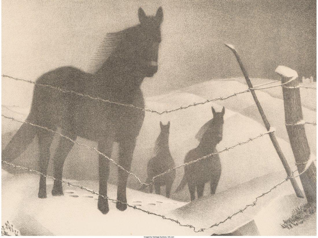 61437: Grant Wood (American, 1891-1942) February, 1941