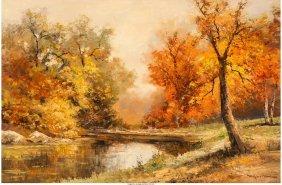 61477: Robert William Wood (American, 1889-1979) A Quie