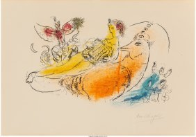 61499: Marc Chagall (French/Russian, 1887-1985) L'Accor