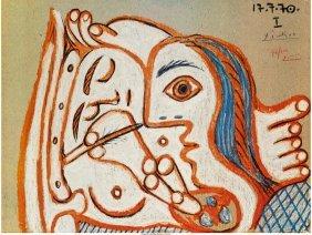 61501: After Pablo Picasso (1881-1973) Nue au Faubourg