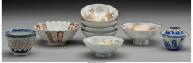 61571: A Group of Nine Chinese and Japanese Porcelain S