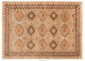 61667: A Modern Tabriz-Style Rug, 21st century 12 x 8-1