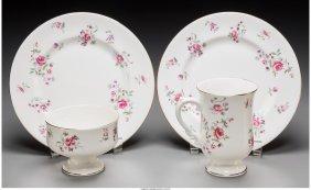 61747: A Thirty-Six Piece Royal Victoria Porcelain Grou