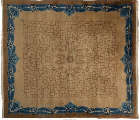 61966: A Woven Wool Rug, 20th century 7 feet 11 inches