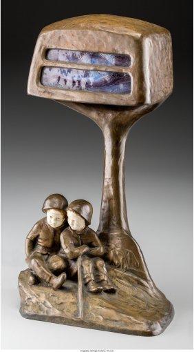 61981: A Peter Tereszczuk (Austrian, 1875-1963) Patinat