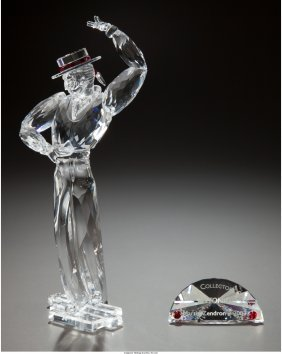 61708: A Swarovski Crystal Magic of the Dance Figurine