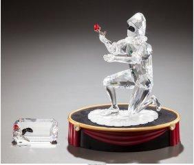 61710: A Swarovski Crystal Masquerade Figurine of Harle