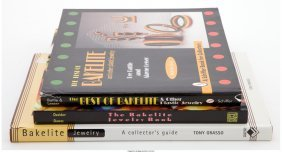 61931: A Group of Three Bakelite Design Books    Battle