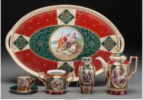 61791: A Twelve-Piece Royal Vienna-Style Demitasse Set,