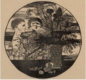 62118: Leonard Baskin (American, 1922-2000) Children &