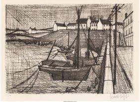 62317: Bernard Buffet (French, 1928-1999) Port Breton D