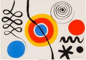 62318: Alexander Calder (American, 1898-1976) Untitled