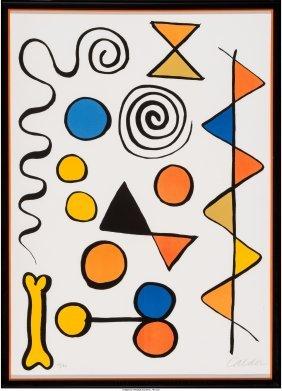 62319: Alexander Calder (American, 1898-1976) Os et ser