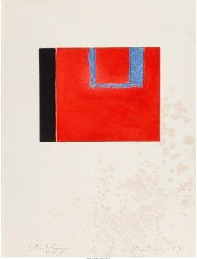 62403: Robert Motherwell (American, 1915-1991) Untitled