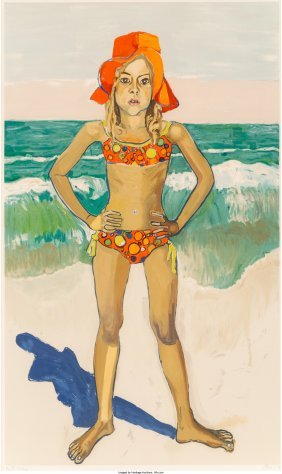 62412: Alice Neel (American, 1900-1984) Olivia and the