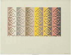62425: David Roth (American, b. 1942) Program #8, 1971