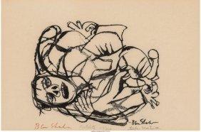 62427: Ben Shahn (American, 1898-1969), Stefan Martin,