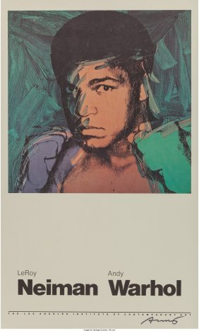 62442: After Andy Warhol (American, 1928-1987) Muhammad