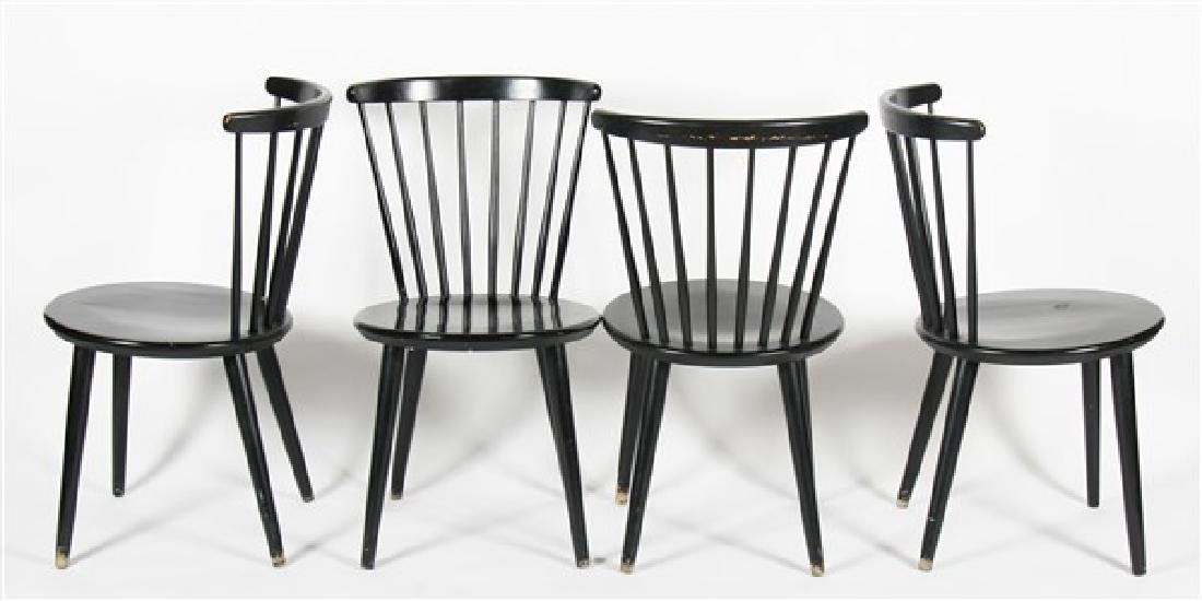 Hagafors Stolfabrik Black Chairs