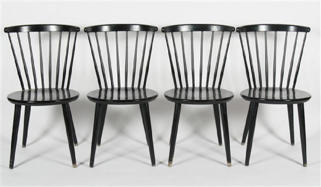 Hagafors Stolfabrik Black Chairs - 2