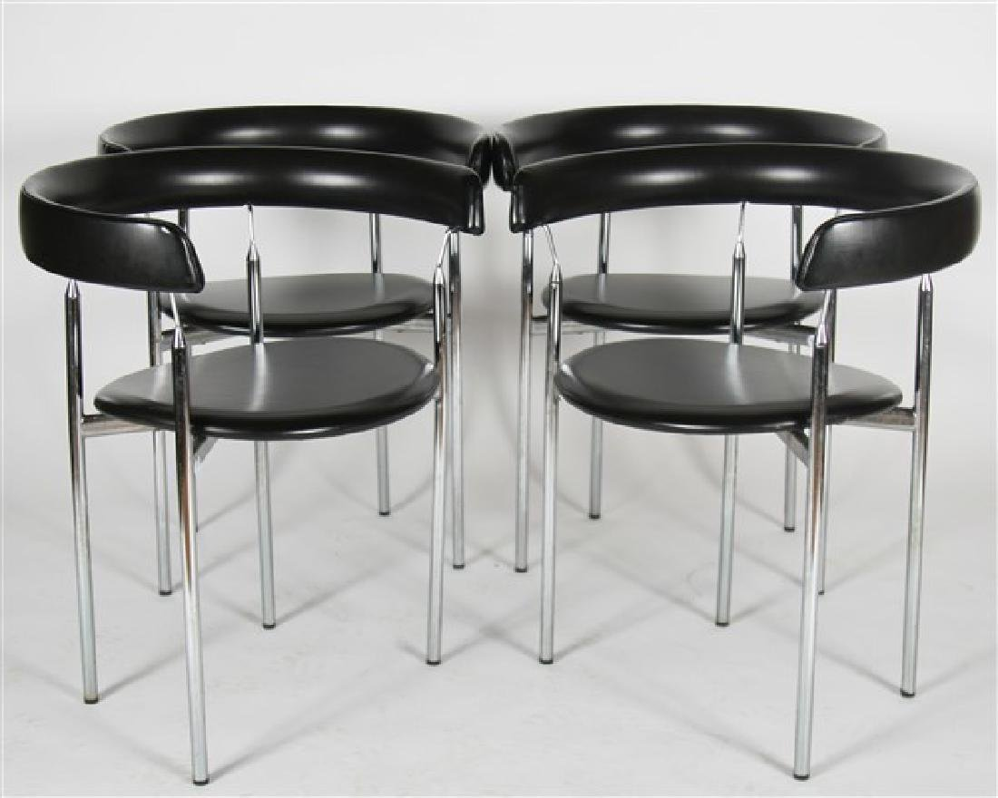 "Jan L. Knutsen for Sorli Fabrikker ""Rondo"" Chairs"