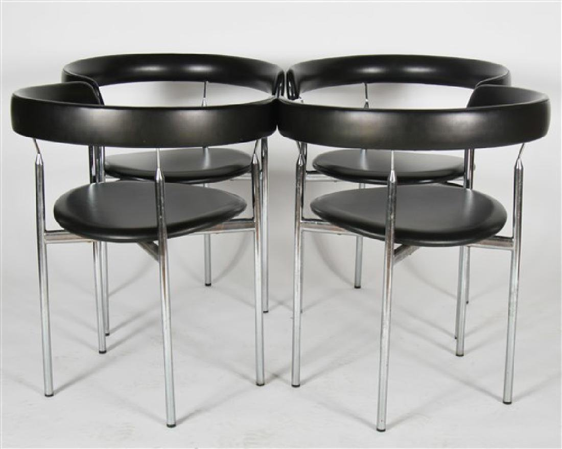 "Jan L. Knutsen for Sorli Fabrikker ""Rondo"" Chairs - 3"