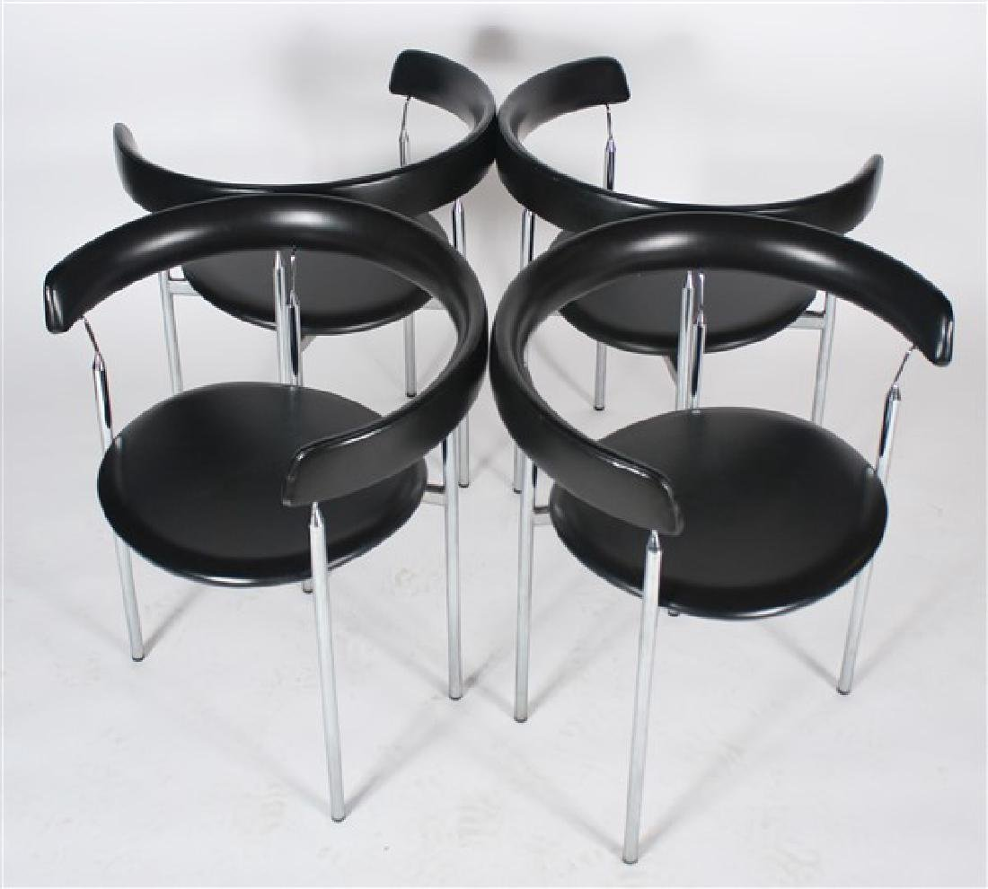 "Jan L. Knutsen for Sorli Fabrikker ""Rondo"" Chairs - 4"