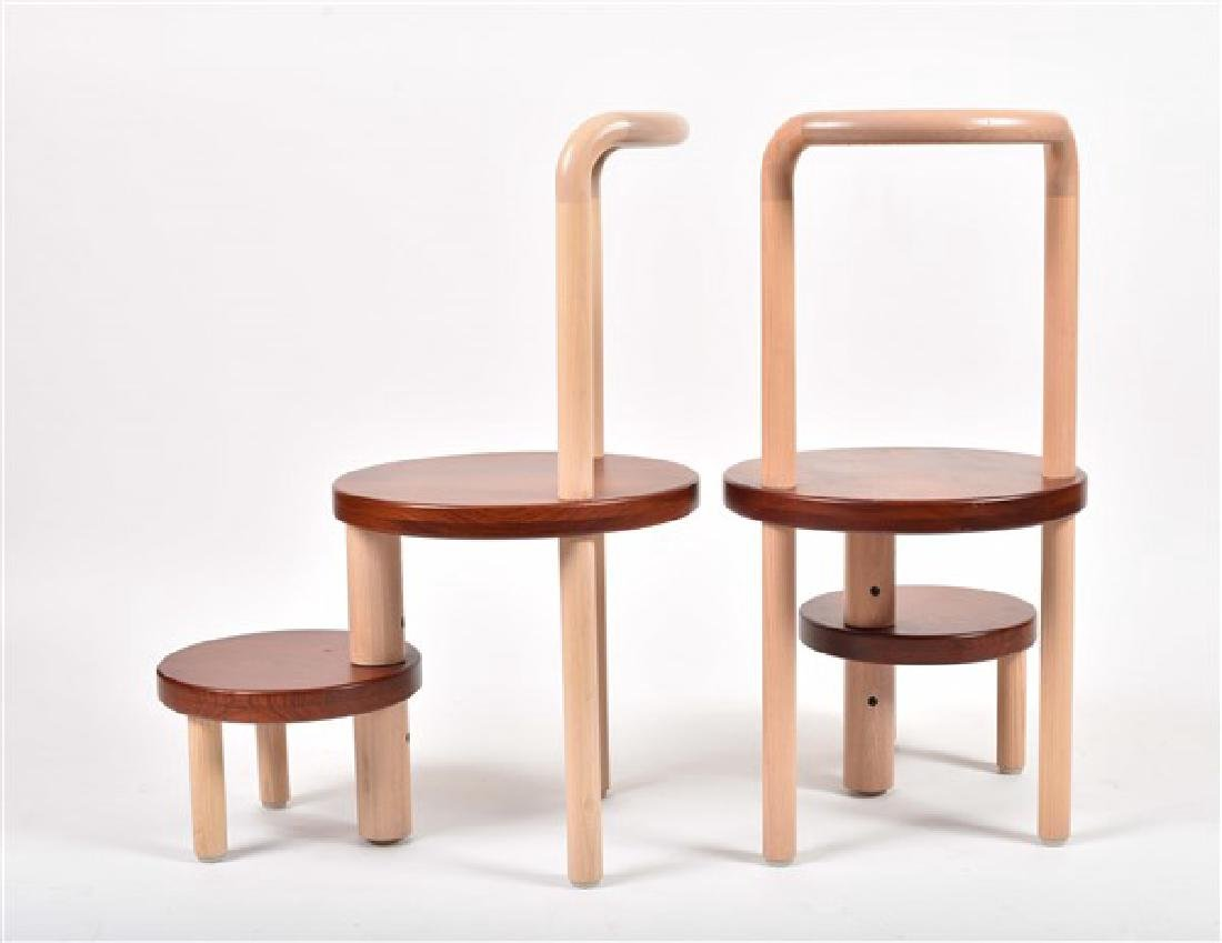 Pair of Custom-Made Todd Young Chairs - 2