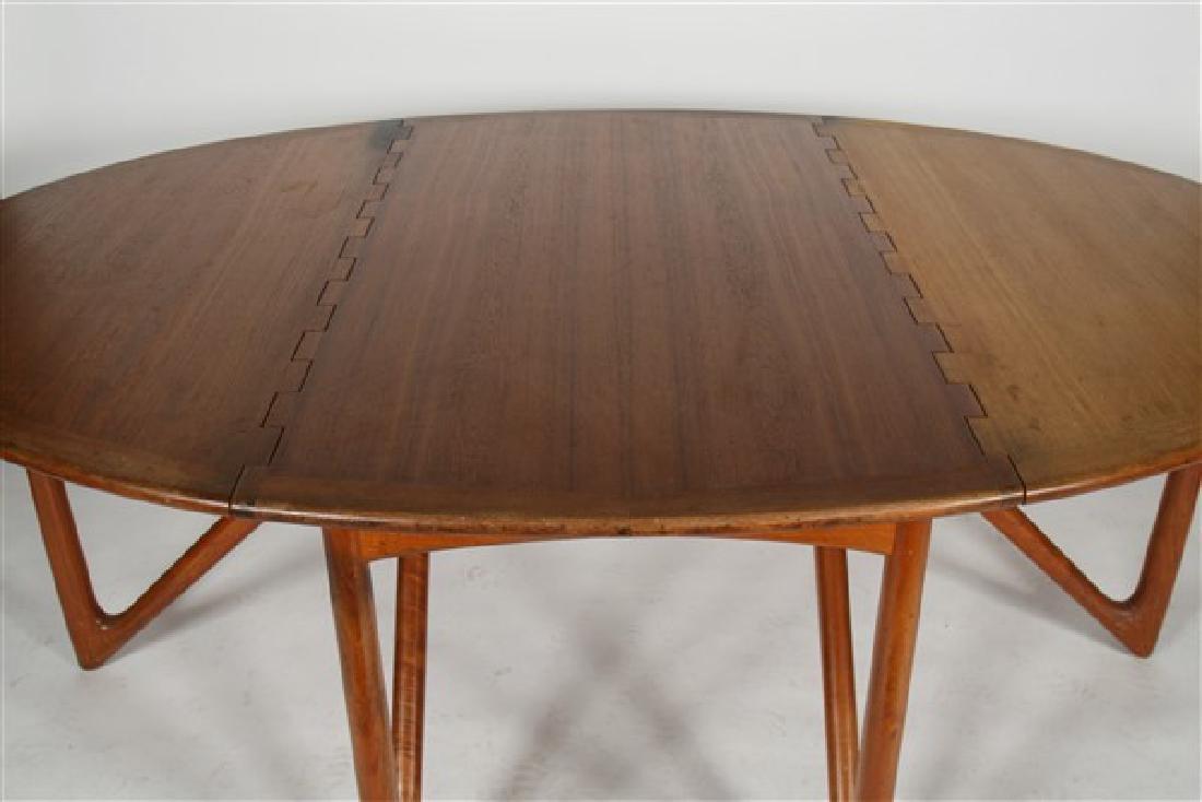 Kurt Ostervig (1912-1986) Drop-Leaf Dining Table - 2