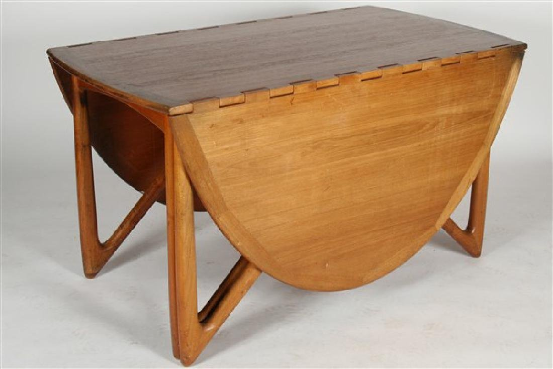 Kurt Ostervig (1912-1986) Drop-Leaf Dining Table - 3