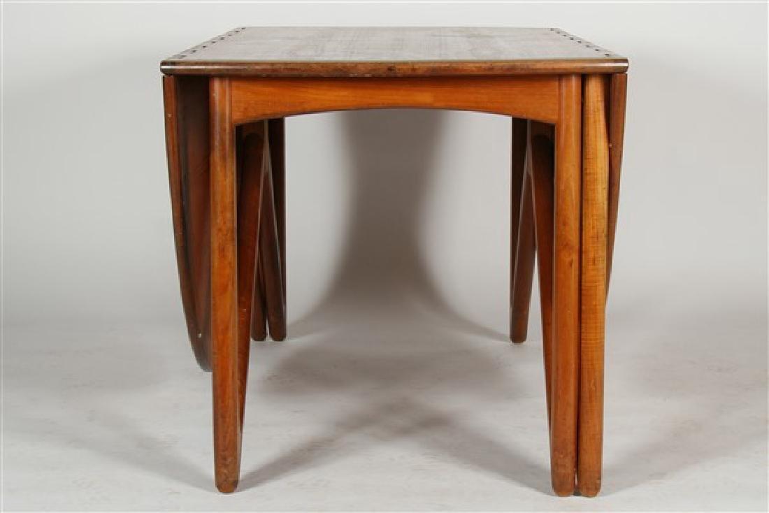 Kurt Ostervig (1912-1986) Drop-Leaf Dining Table - 4