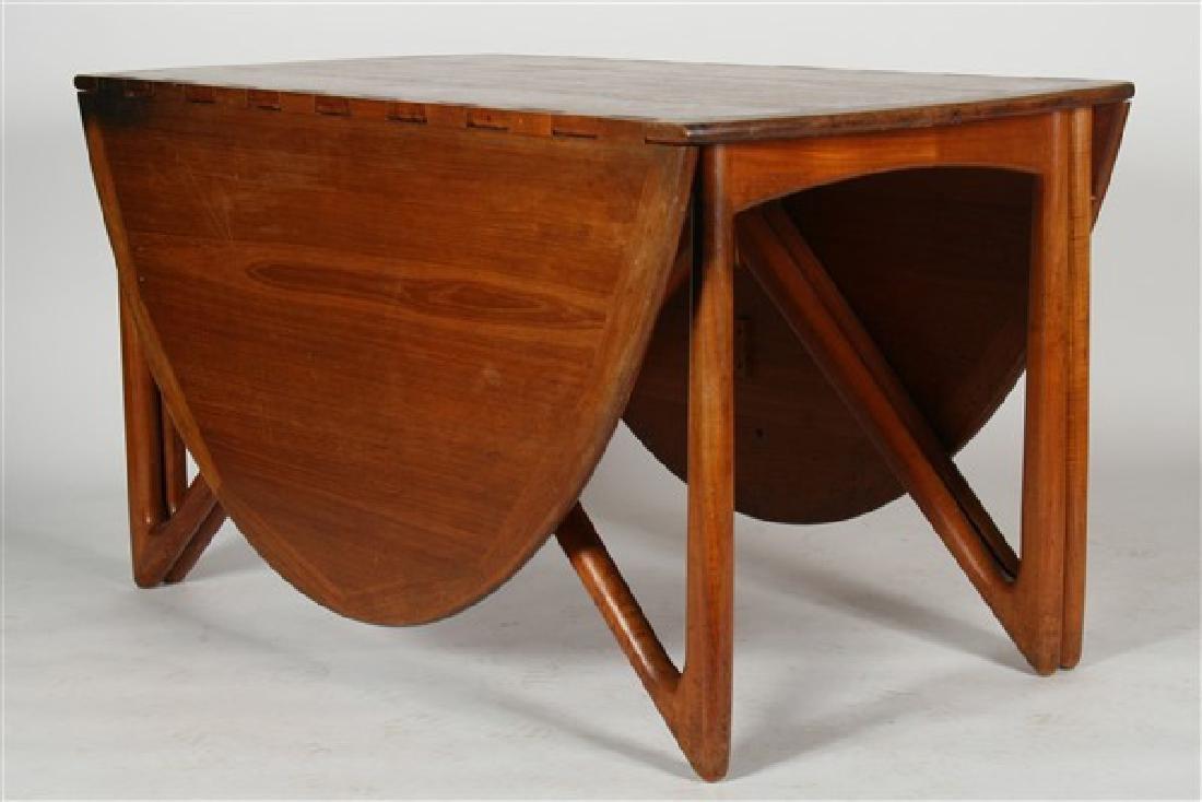 Kurt Ostervig (1912-1986) Drop-Leaf Dining Table - 5