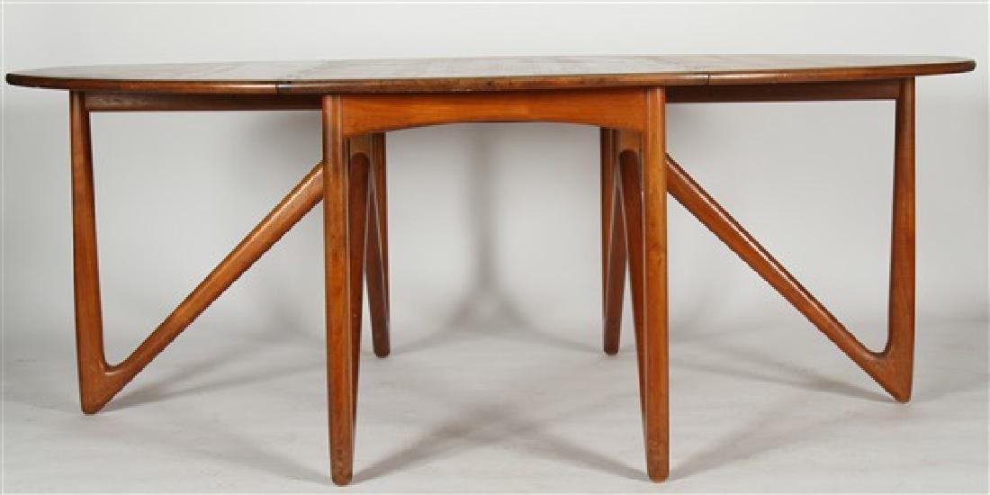 Kurt Ostervig (1912-1986) Drop-Leaf Dining Table - 6